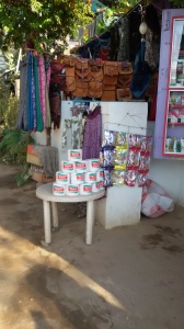 Stalls selling everyday items