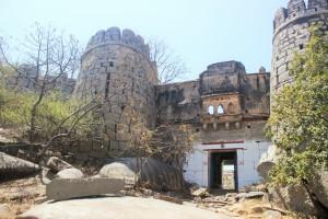 Old fort on Vali Hill