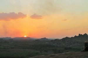 Sunset from Malyavanta Hill