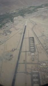 Lone landing strip