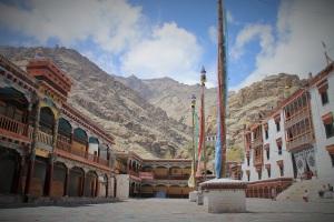 Hemis monastery compund