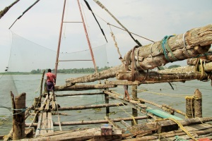 Chinese fishing mechanism