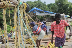 Lowering the Fishing Net