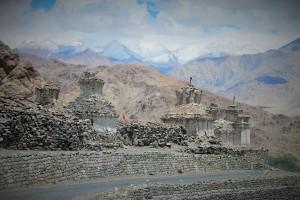 More stupas
